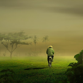 go home by Hendrique Avocado - Digital Art Things