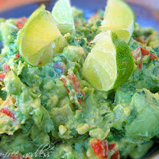 The Best Rockin' Guacamole with Tomatillos + Lime