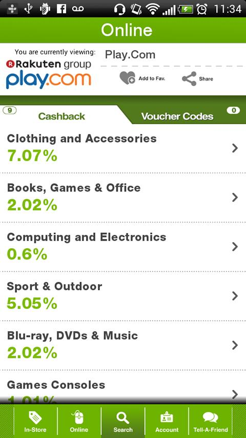 TopCashback Screenshot 1