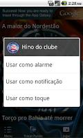 Screenshot of Bahia - Músicas da Torcida