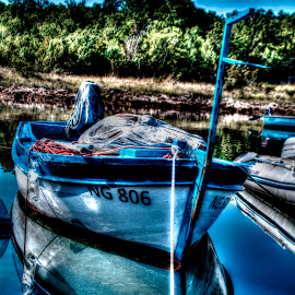 Old wooden fishing boat by Hrvoje Kunović - Landscapes Travel ( old, wooden, croatia, fishing, boat )
