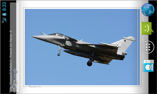 Dassault Rafale Live Wallpaper - screenshot