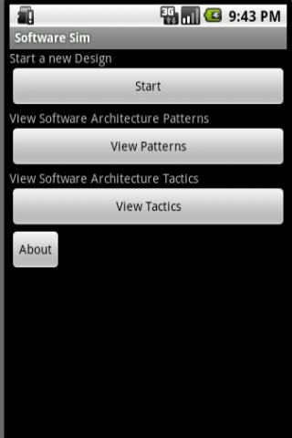Software Architect Sim - LITE