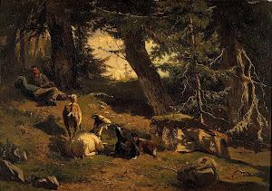 RIJKS: Gerard Bilders: painting 1860