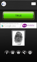 Screenshot of Fingerprint Lie Detector