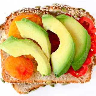 Tomato and Avocado Sandwich