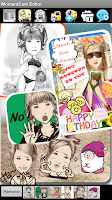 Screenshot of MomentCam Collage Editor
