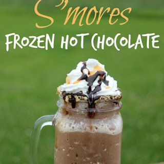 Rolo S'mores Frozen Hot Chocolate