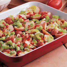 Easy Overnight Pimiento Potato Salad