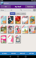 Screenshot of NaiinPann: Online Bookstore