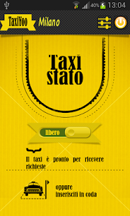 TaxiYoo Driver Milano - screenshot