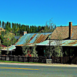 River Street, Truckee by Samantha Linn - Buildings & Architecture Public & Historical