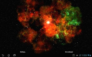 Screenshot of Deep Galaxies HD Free