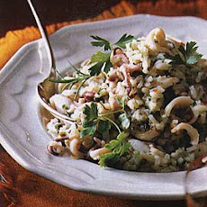 Squid Risotto