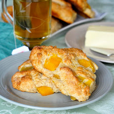Mango and Cream Cheese Scones