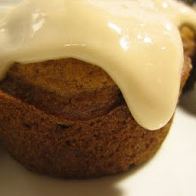 Pumpkin Cupcakes with Maple Cream Cheese Frosting