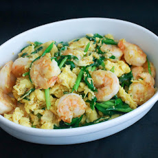 Stir-Fried Shrimp With Eggs and Chinese Chives