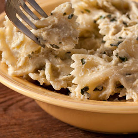 Creamy Pesto Pasta Salad with Artichokes, Tomatoes, and Peas Recipe ...