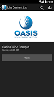 Screenshot of Oasis Church Nashville