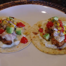 Southern Fried Chicken Tacos With Bacon Gravy