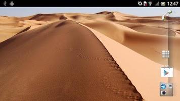 Screenshot of Desert Live Wallpaper