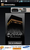 Screenshot of Islamic wallpapers