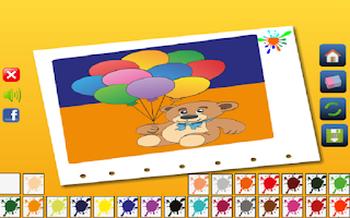 Screenshot of Drawing Coloring Game