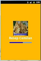 Screenshot of Aneka Resep Cemilan