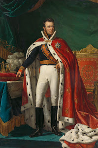 RIJKS: Joseph Paelinck: Portrait of William I, King of the Netherlands 1819
