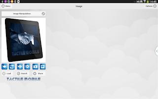 Screenshot of Tactile Mobile Pro