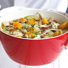 Mustard Chicken With Winter Vegetables