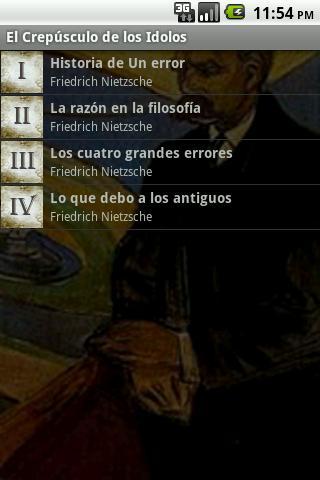 【免費書籍App】El Crepúsculo de los Idolos-APP點子