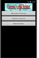 Screenshot of Glycemic Log&Calculator