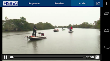 Screenshot of Fish TV