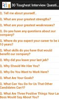 Screenshot of HR Interview Questions & Ans