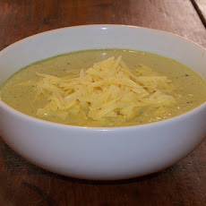 Low Fat Cheese Broccoli Soup