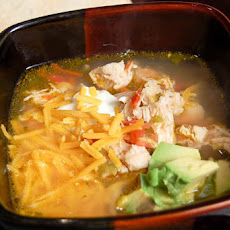 Spicy Chicken Fiesta Soup
