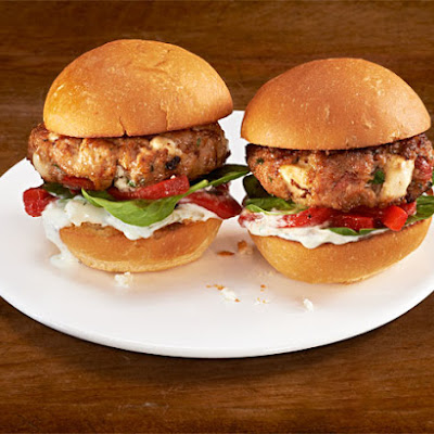 Mediterranean Turkey Sliders