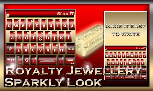 SlideIT Royalty Jewellery Skin
