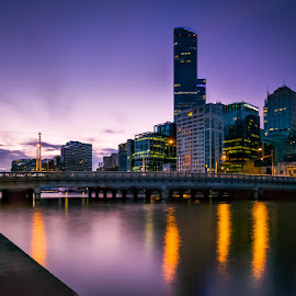 Purple haze by IDG Photography - City,  Street & Park  Skylines