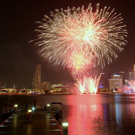 Nation Celebration by Jeffrey Fok - Abstract Fire & Fireworks (  )
