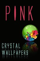 Screenshot of Crystal Pink Wallpapers