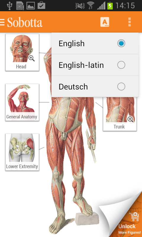 Sobotta Anatomy Atlas Screenshot 0