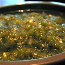 Green Hot Sauce (Salsa Verde)