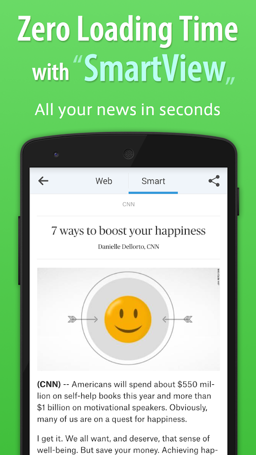 SmartNews Screenshot 1