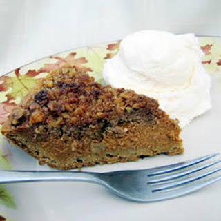 Walnut Pumpkin Pie