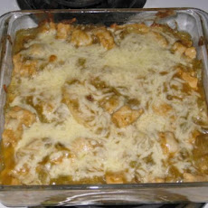 Mexican-Style Green Chile Chicken Casserole