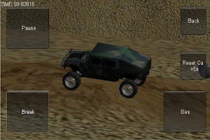 Screenshot of 3D Stunt Car Race