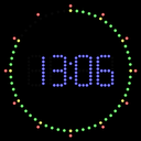 LED Studio Clock mobile app icon