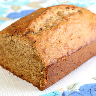 Banana Bread with Cardamom, Pumpkin Seeds and Golden Raisins